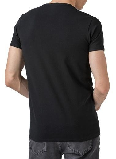 Lacoste Erkek  Tişört TH0999.031 Siyah